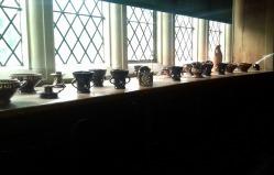 Lower dining room window ledge