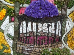 Buxton well dressing close up