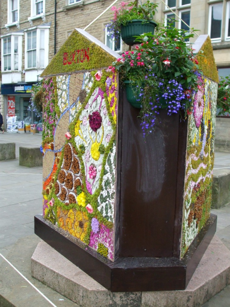 Three-sided Children's Well Dressing in Buxton
