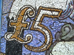 Close up of Stephenson well dressing
