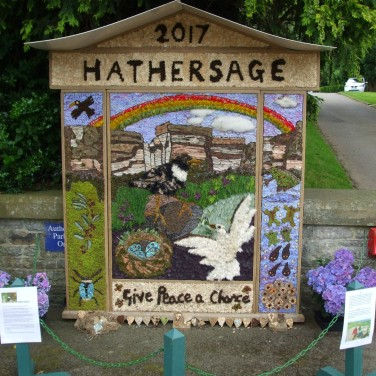 Hathersage Well Dressing 2017