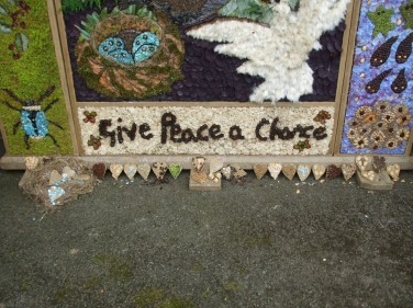 Hathersage well dressing theme