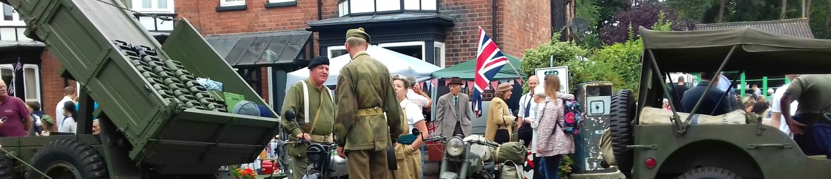 Music and Fun at Woodhall Spa's 40s Festival 2017