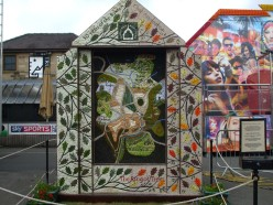 Buxton Civic Association Well Dressing in the Market Place