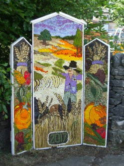 Peak Forest well dressing 2