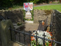 Sir Christopher Wren well dressing