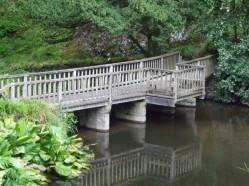 Bridge at the edge of Skating Pond
