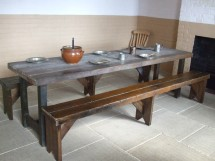 Old and infirm men's dining room