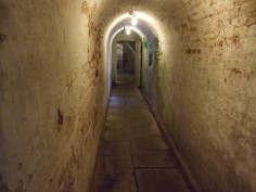 Corridor to the cellars