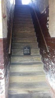 Stairs up to the Master's and Matron's accommodation (out of bounds to inmates.