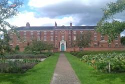 Paupers Walk: pathway to the front door of the Workhouse
