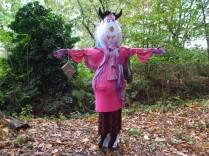 Miss Piggy Scarecrow