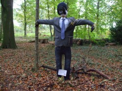 Monkey Man Scarecrow