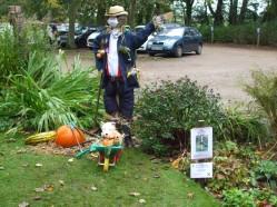 Monty Don Scarecrow (Celebrity UK Gardener