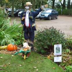 Monty Don Scarecrow (Celebrity UK Gardener