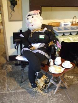 Tea Shop Scarecrow