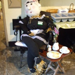 Tea Shop Scarecrow