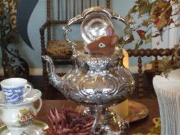 Dormouse at the Tea Party
