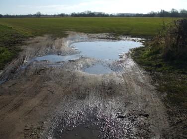 Muddy February lanes 1