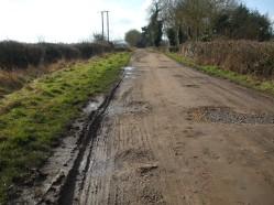 Muddy February lanes 2