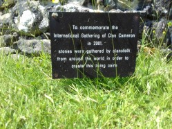 Info about the Cameron Cairn