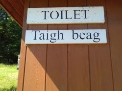 Scottish(Gaelic) name for toilet