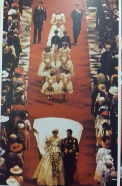 Wedding of Charles and Diana at which Catherine Cameron was a bridesmaid