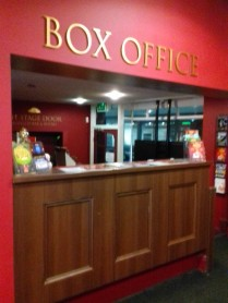 Box office in the foyer