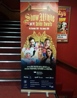 Snow White poster in the foyer