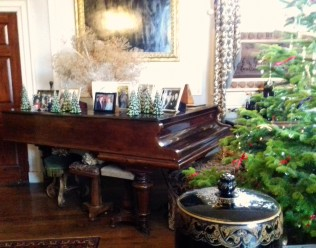 Dining room piano