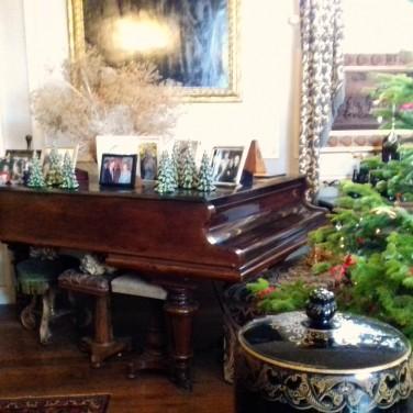 Dining room piano