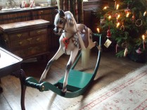 Rocking horse in parlour
