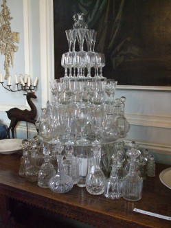 Tree of wine glasses