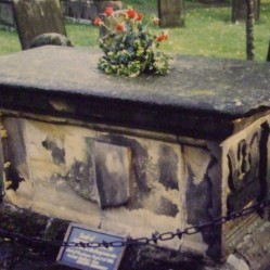Catherine Mompesson's tomb