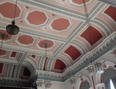Ceiling in the Victoria Hall