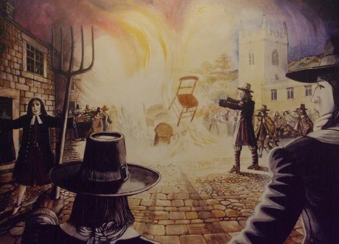 Great burning after the plague at Eyam 2