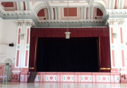 Inside Victoria Hall