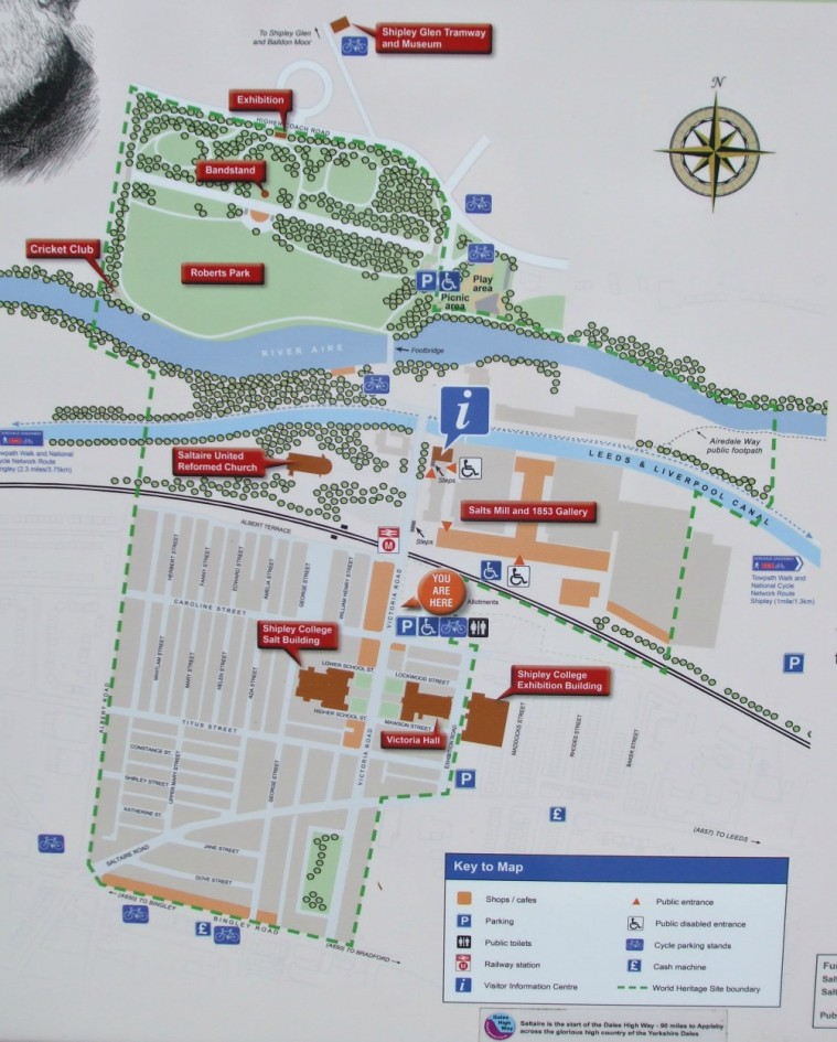 Plan of Saltaire