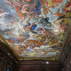 Ceiling in the Great Chamber