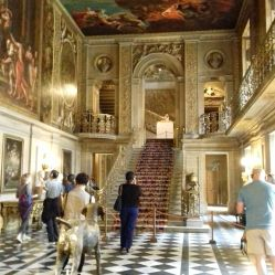 Painted Hall with tourists