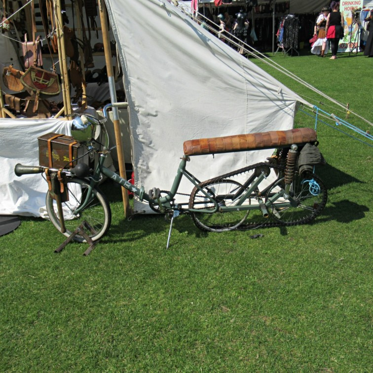Steam powered bike C