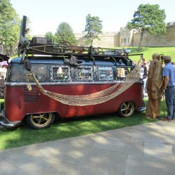 Steam-powered van D