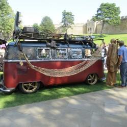 Steam-powered van D