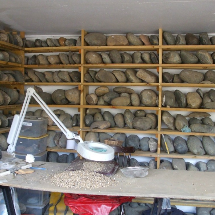 Rock and ore collections visitor centre