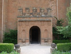 Entrance into Leicester 's Gatehouse